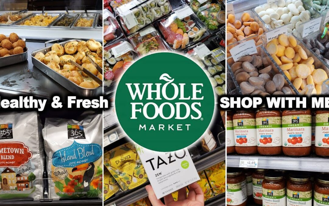 WHOLE FOODS MARKET WALK THROUGH | GROCERY SHOPPING WITH ME 2020