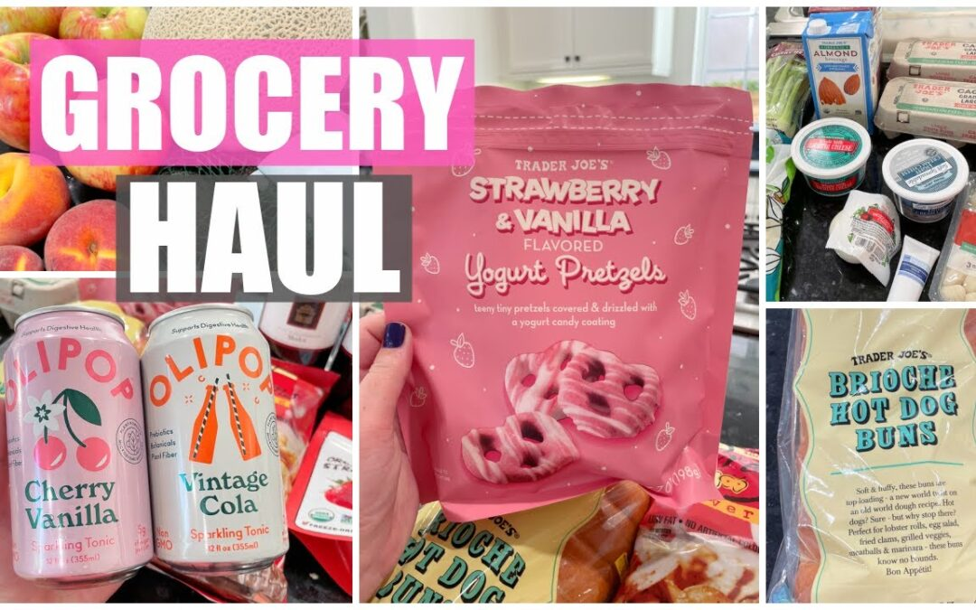 Grocery Haul! Trader Joe's & Whole Foods | Spring 2021