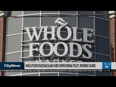 Whole Foods faces backlash over employee poppy ban, reverses course