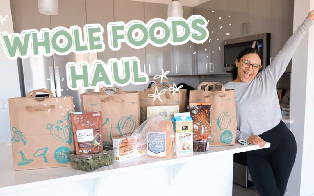 my first time at whole foods + haul