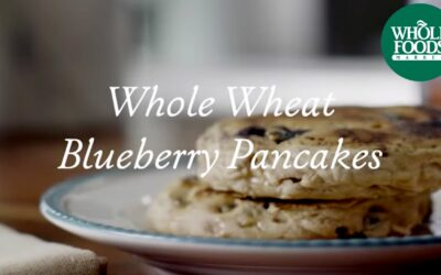 Homemade Healthy Recipe | Whole Wheat Blueberry Pancakes | Whole Foods Market