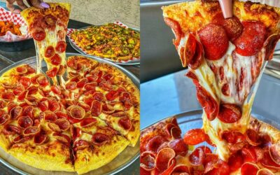 Cheese Pizza | Delicious Food Video Compilation | Tasty and Satisfying Food Videos #280