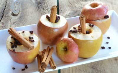 Easy Low Carb Baked Apples with Cinnamon Recipe