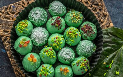 Paan Cheesecake Truffles – Cook With Manali